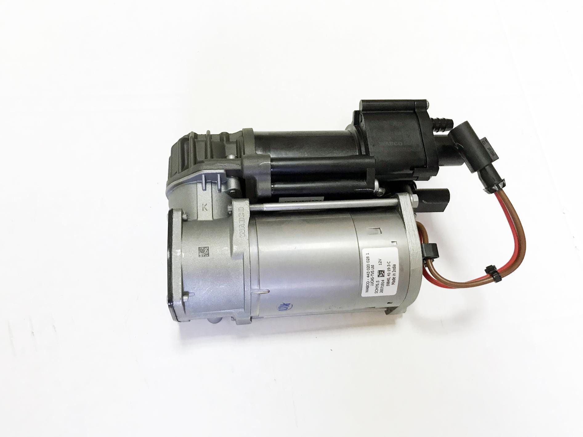 картинка Оригинальный компрессор пневмоподвески Wabco 37206875177 для BMW X5 (F15/ F85), X6 (F16/ F86) от магазина пневмоподвески ПневмоМаркет