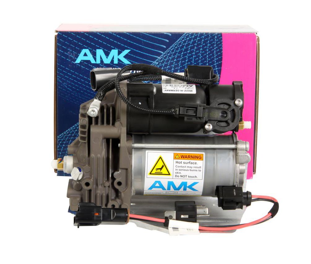 картинка Оригинальный компрессор пневмоподвески AMK LR072537 для Land Rover L319 Discovery 3 4 / L320 Range Rover Sport от магазина пневмоподвески ПневмоМаркет