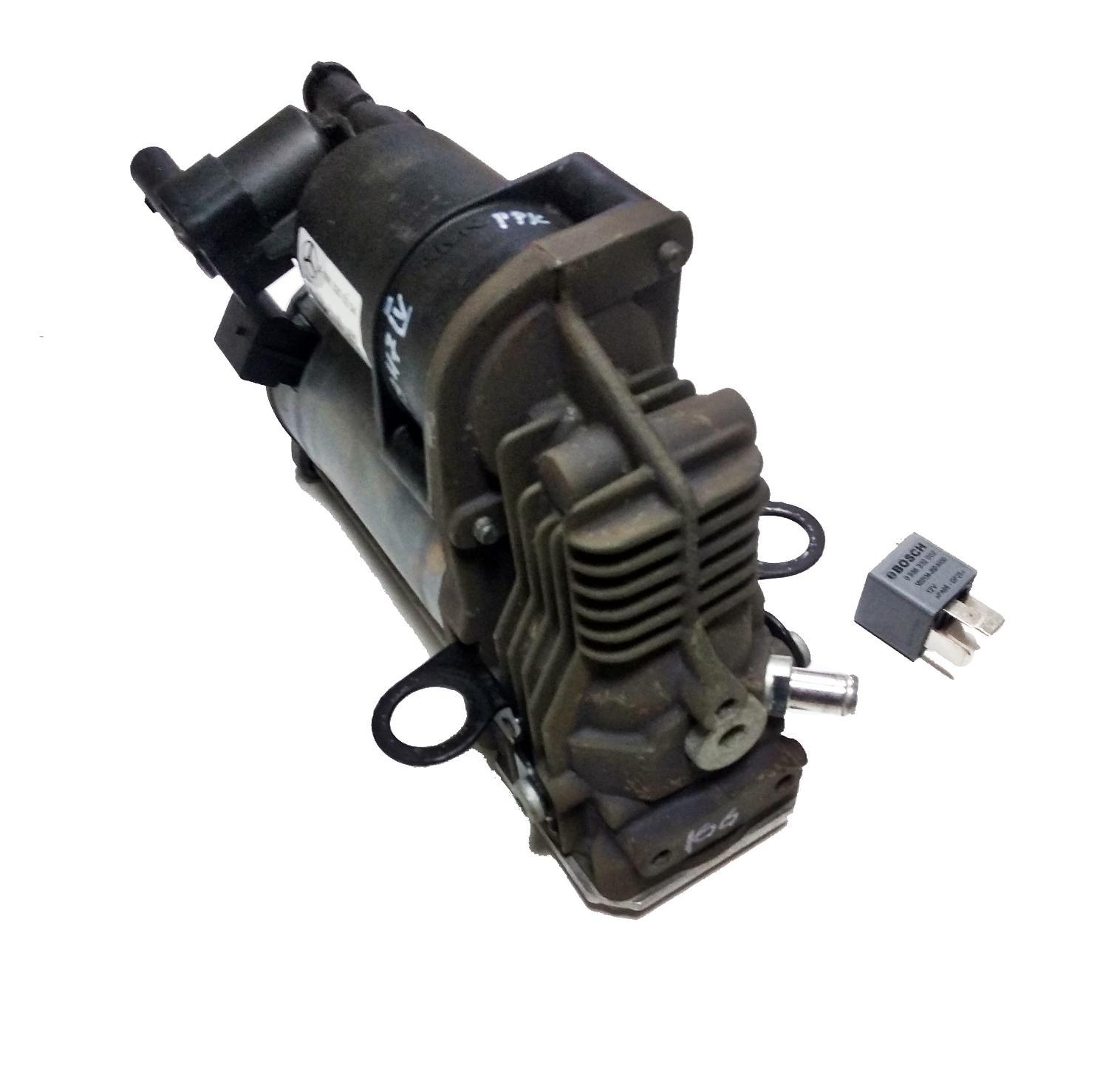 картинка Оригинальный восстановленный компрессор пневмоподвески AMK для Mercedes W166 ML\GL (A1663200104) от магазина пневмоподвески ПневмоМаркет