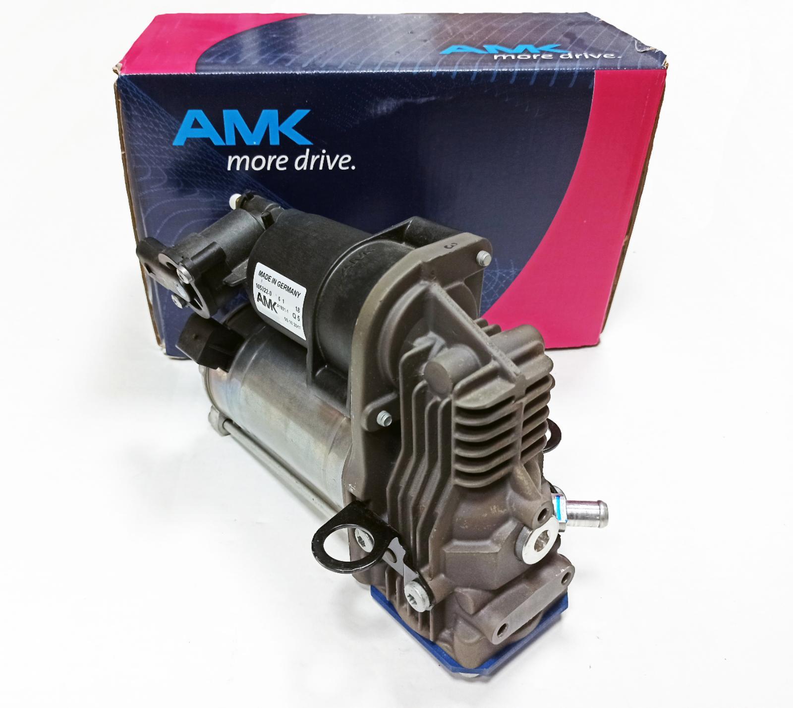 картинка Новый оригинальный компрессор пневмоподвески AMK для Mercedes X166 GL, W166 ML (A1663200104, A1663200204) от магазина пневмоподвески ПневмоМаркет