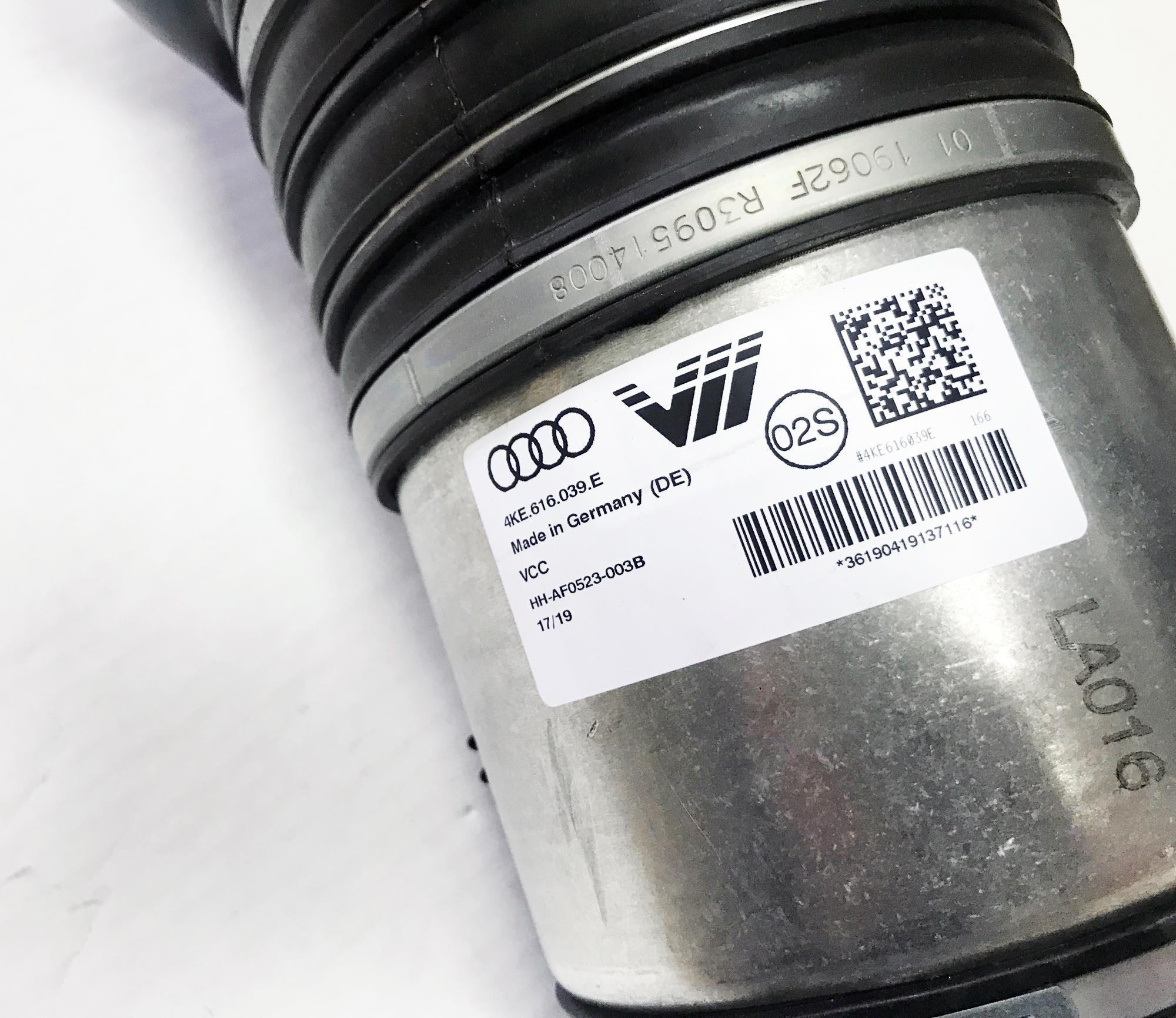 картинка Оригинальная передняя пневмостойка VAG для Audi A7 4K8, A6 C8 4K (4K0616039E) от магазина пневмоподвески ПневмоМаркет