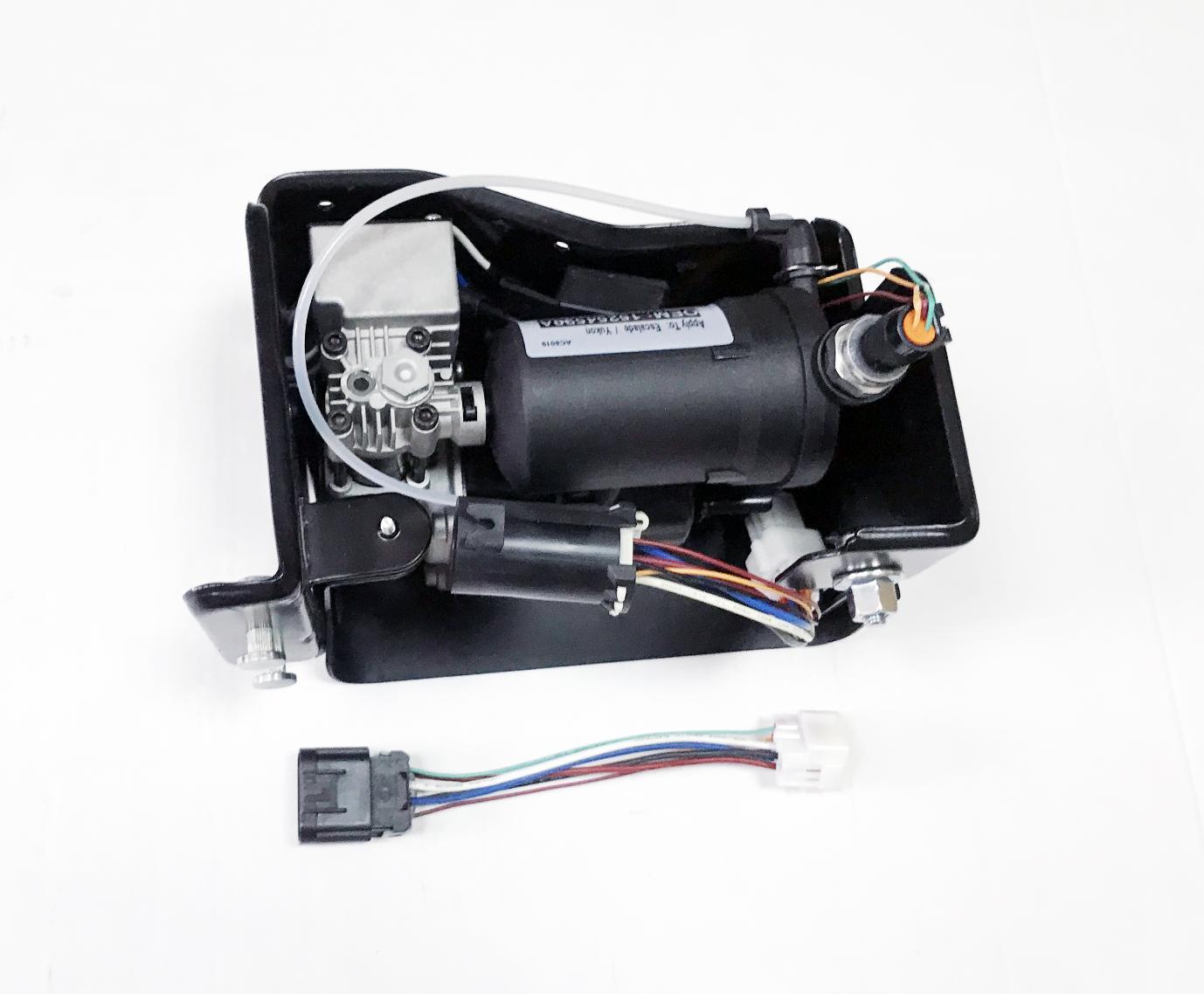картинка Новый компрессор пневмоподвески Miessler для Cadillac Escalade и Chevrolet Tahoe (15254590, 20930288, 22941806) от магазина пневмоподвески ПневмоМаркет