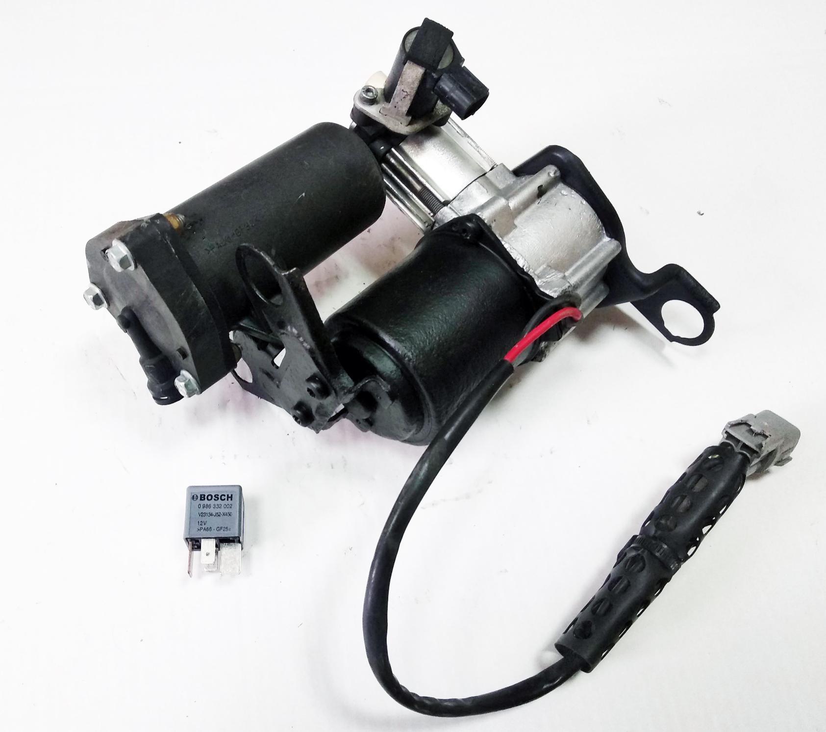 картинка Оригинальный восстановленный компрессор пневмоподвески для Toyota Land Cruiser Prado 120 и Prado 150; Lexus GX460 и Lexus GX470 (4891060021, 48910-60021) от магазина пневмоподвески ПневмоМаркет