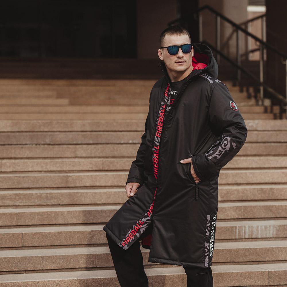 картинка Удлиненное мужское пальто от магазина Одежда+