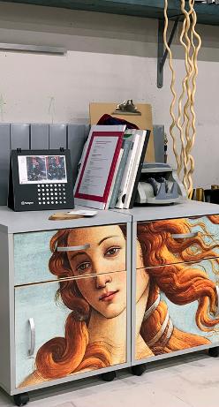Печать для дверей и мебельных фасадов