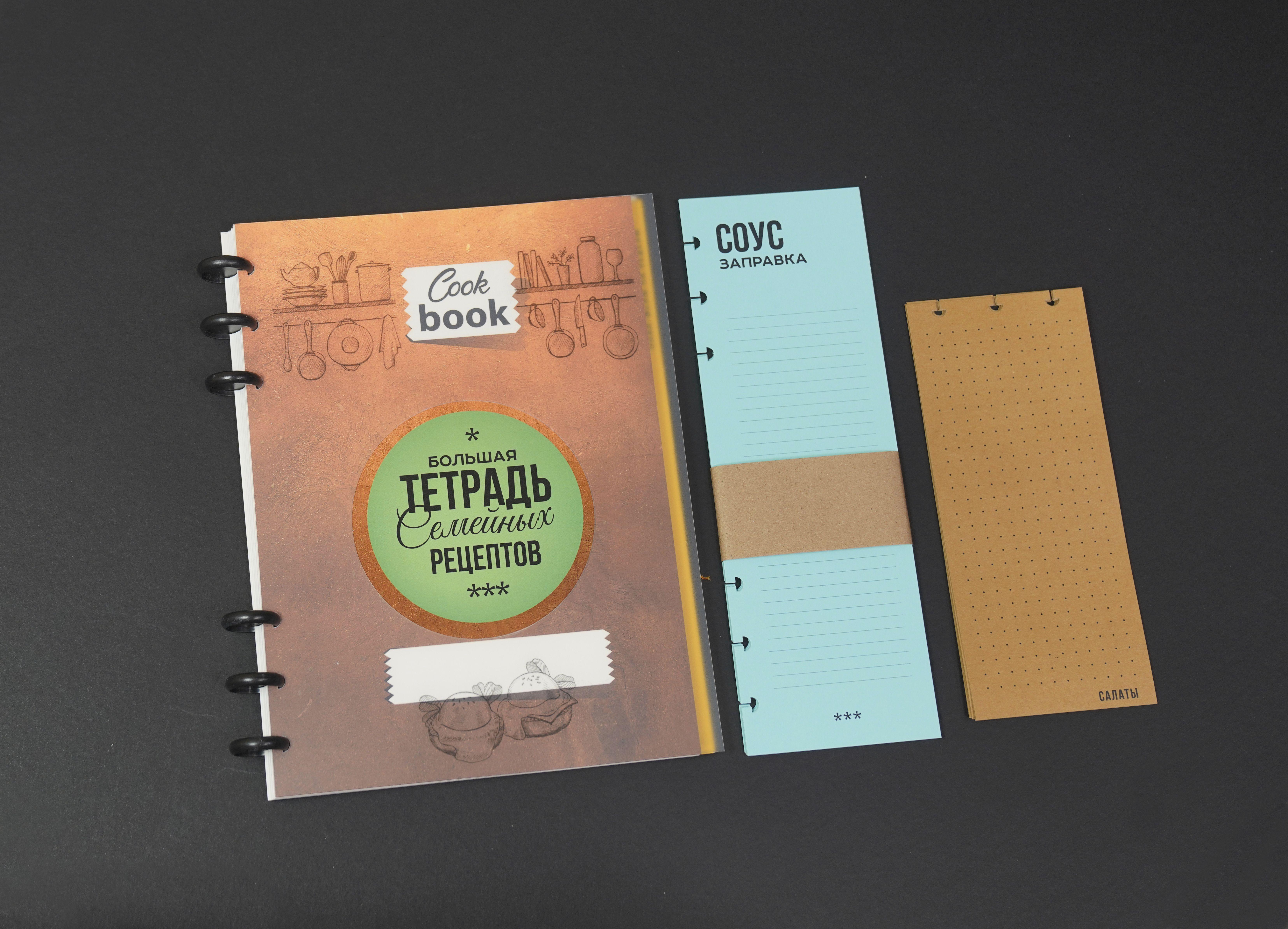 Тетрадь для записи рецептов