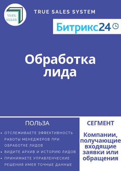 """Бизнес-процесс """"Обработка лида"""" для Битрикс24"""