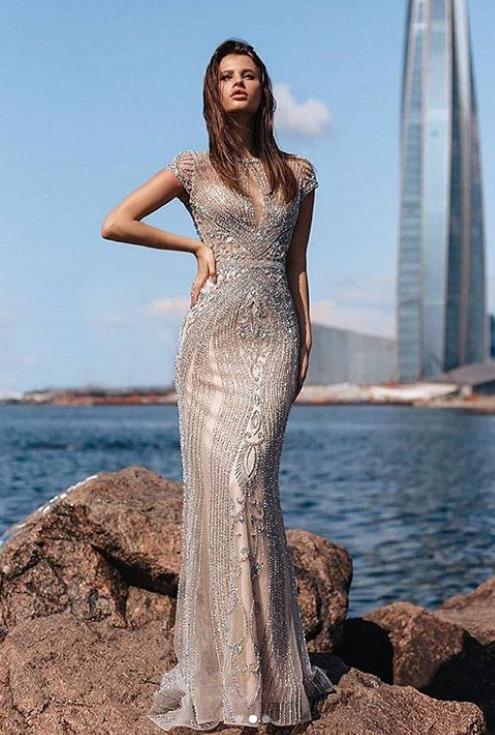 картинка Вечернее платье AV1011  интернет бутик Avolet.ru