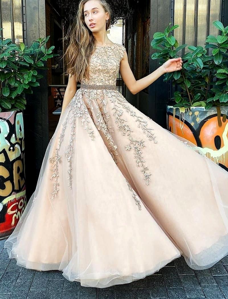 картинка Вечернее платье с кружевом LUX3544 интернет бутик Avolet.ru
