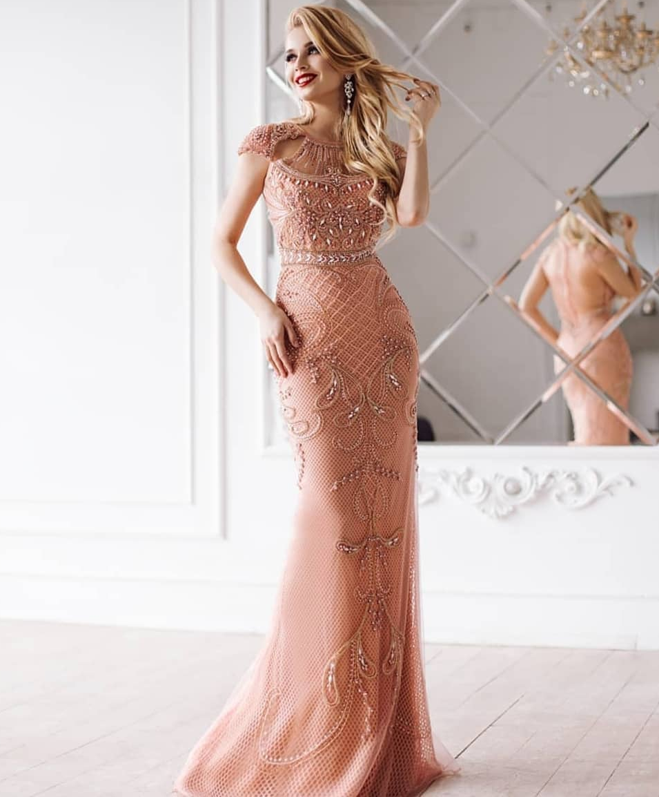 картинка Вечернее платье KI102662 интернет бутик Avolet.ru