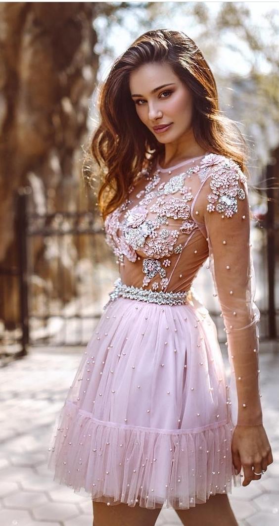 картинка Вечернее платье с жемчугом LUX4766 интернет бутик Avolet.ru