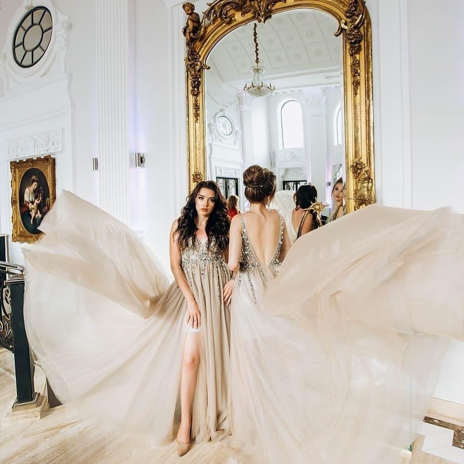 картинка Вечернее платье с бисером  AV102882 интернет бутик Avolet.ru