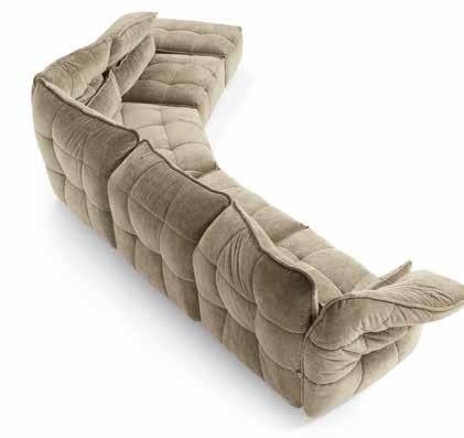 картинка Модульный диван Ever Max Divani   Итальянские диваны ручной работы