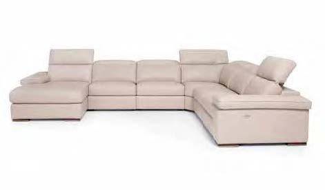 картинка Модульный диван-реклайнер Agos Max Divani   Итальянские диваны ручной работы