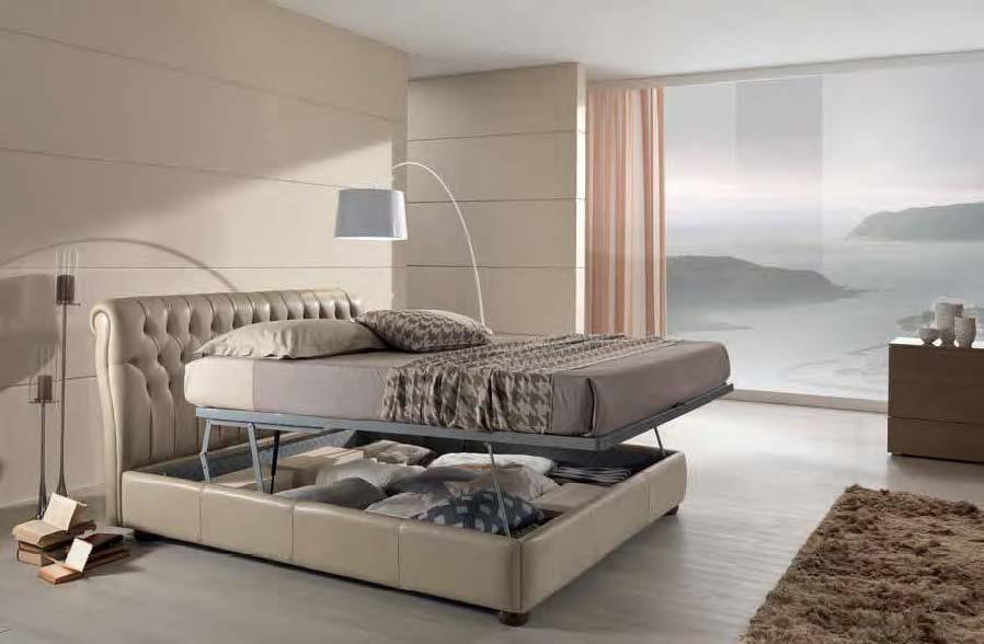 картинка Кровать Dafne Max Divani | Итальянские диваны ручной работы
