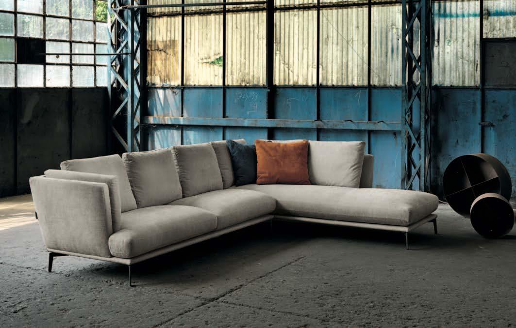 картинка Модульный диван Tortona Max Divani | Итальянские диваны ручной работы