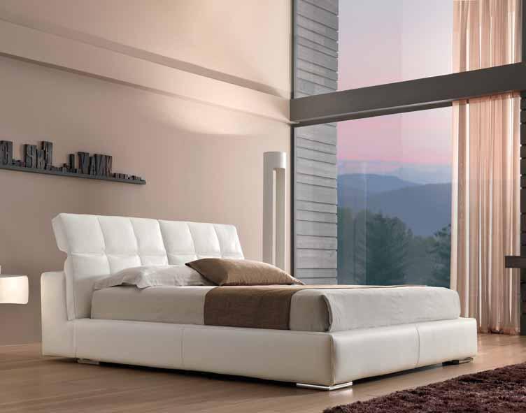 картинка Кровать Slim Max Divani | Итальянские диваны ручной работы