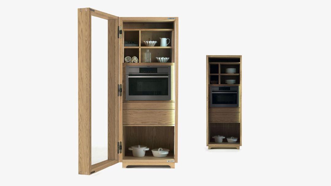 Многофункциональный шкаф CAMBUSA COOK GLASS SMALL /JUMBO