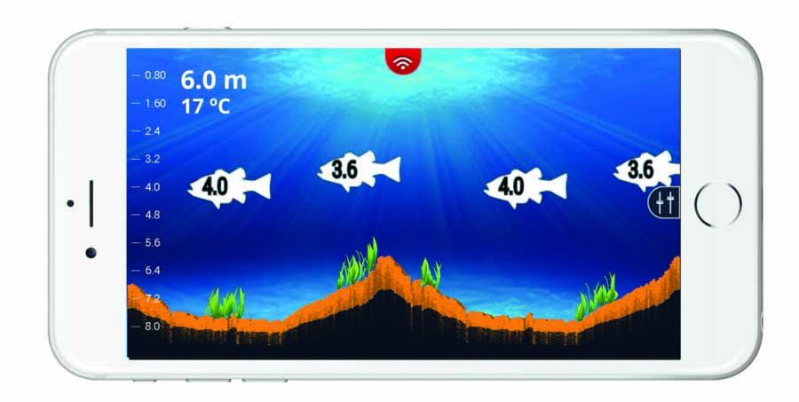 Беспроводной эхолот с 3 лучами Lowrance Fish Hunter Pro