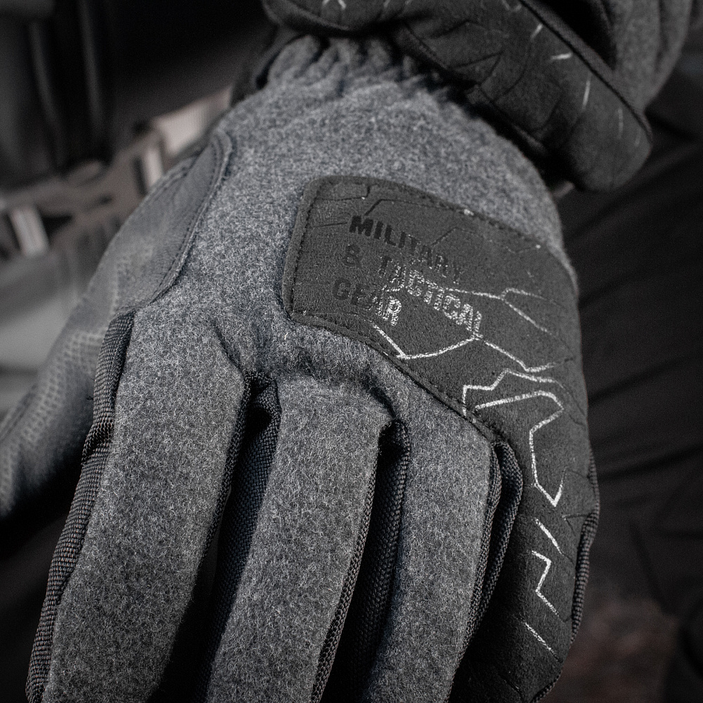 картинка M-TAC ПЕРЧАТКИ ЗИМНИЕ EXTREME TACTICAL DARK GREY от магазина Одежда+