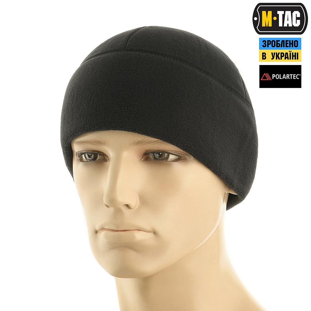 картинка M-TAC ШАПКА WATCH CAP ФЛИС POLAR BLACK от магазина Одежда+