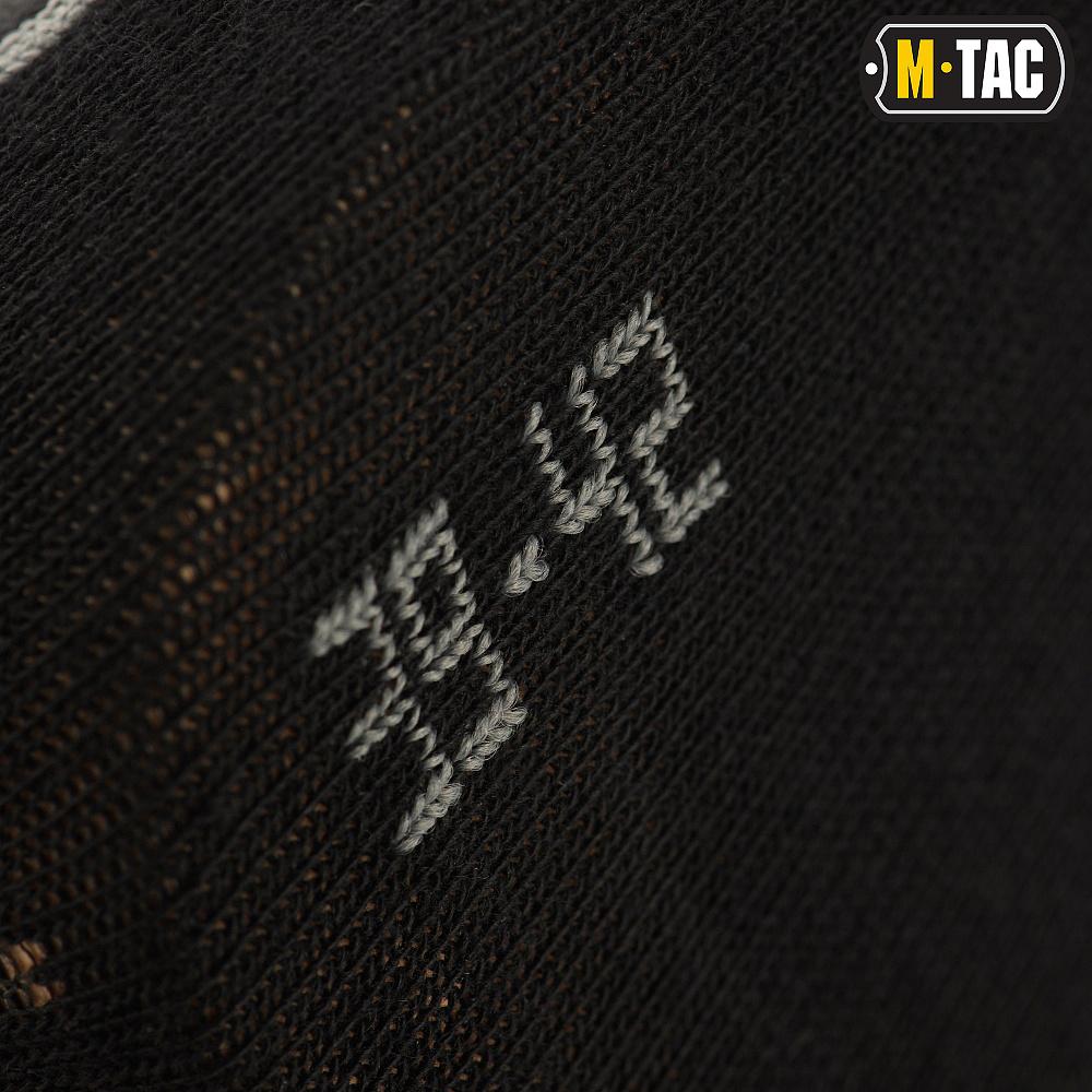 картинка M-TAC НОСКИ ЛЕГКИЕ MK.3 BLACK от магазина Одежда+