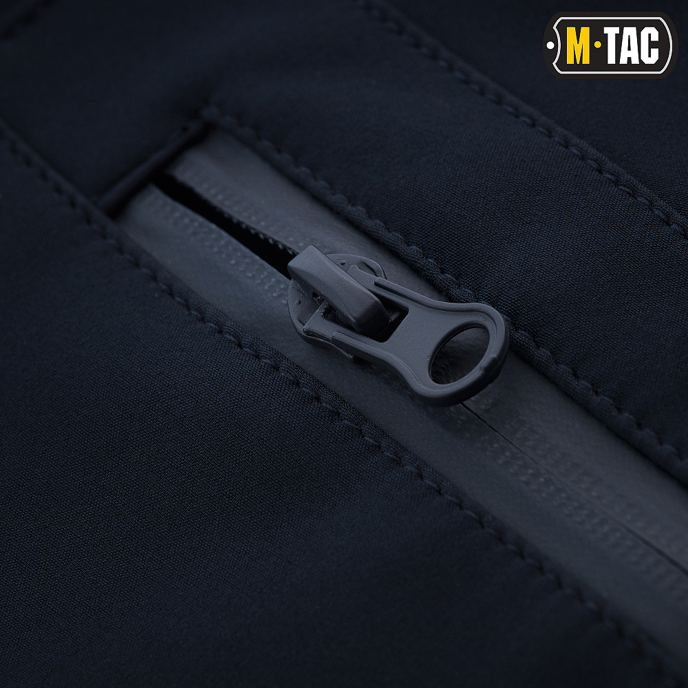 картинка M-TAC БРЮКИ SOFT SHELL WINTER DARK NAVY BLUE от магазина Одежда+