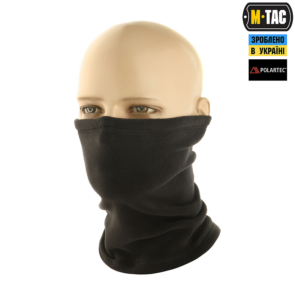 картинка M-TAC ШАРФ-ТРУБА POLAR PRO BLACK от магазина Одежда+
