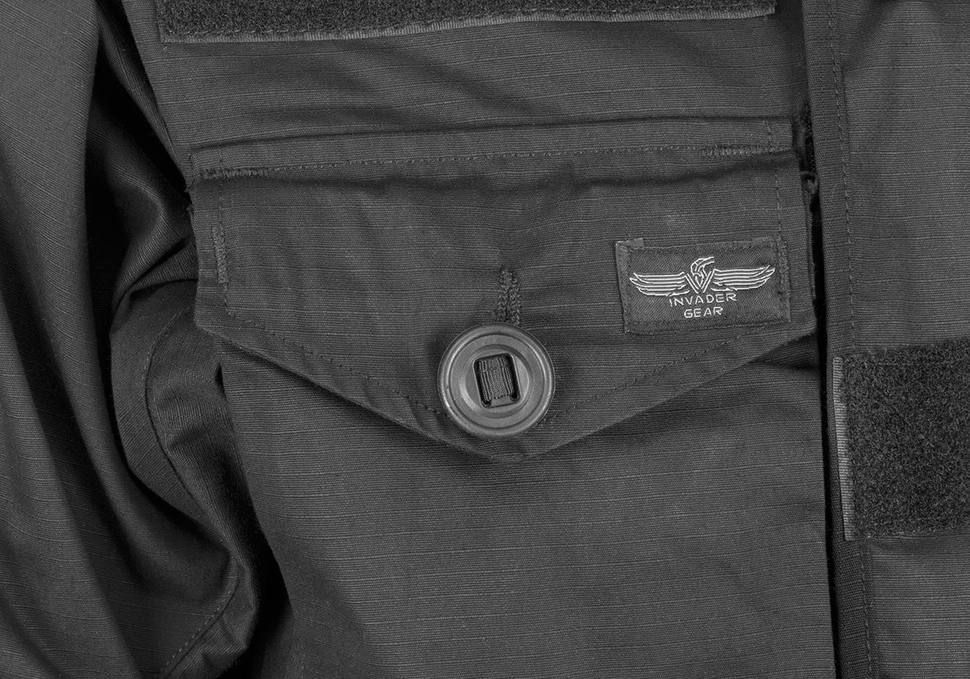 картинка Куртка Invader Gear Para Smock Black от магазина Одежда+