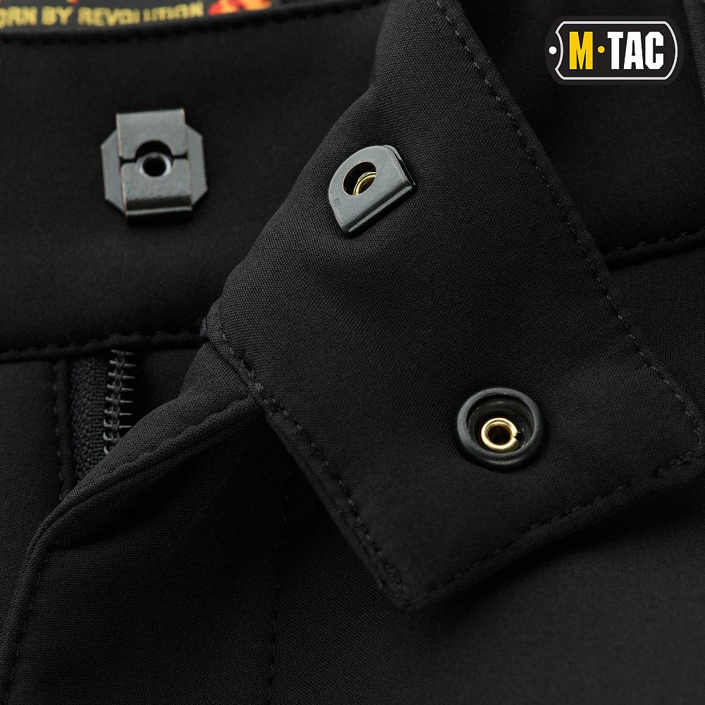картинка M-TAC БРЮКИ SOFT SHELL VENT BLACK от магазина Одежда+
