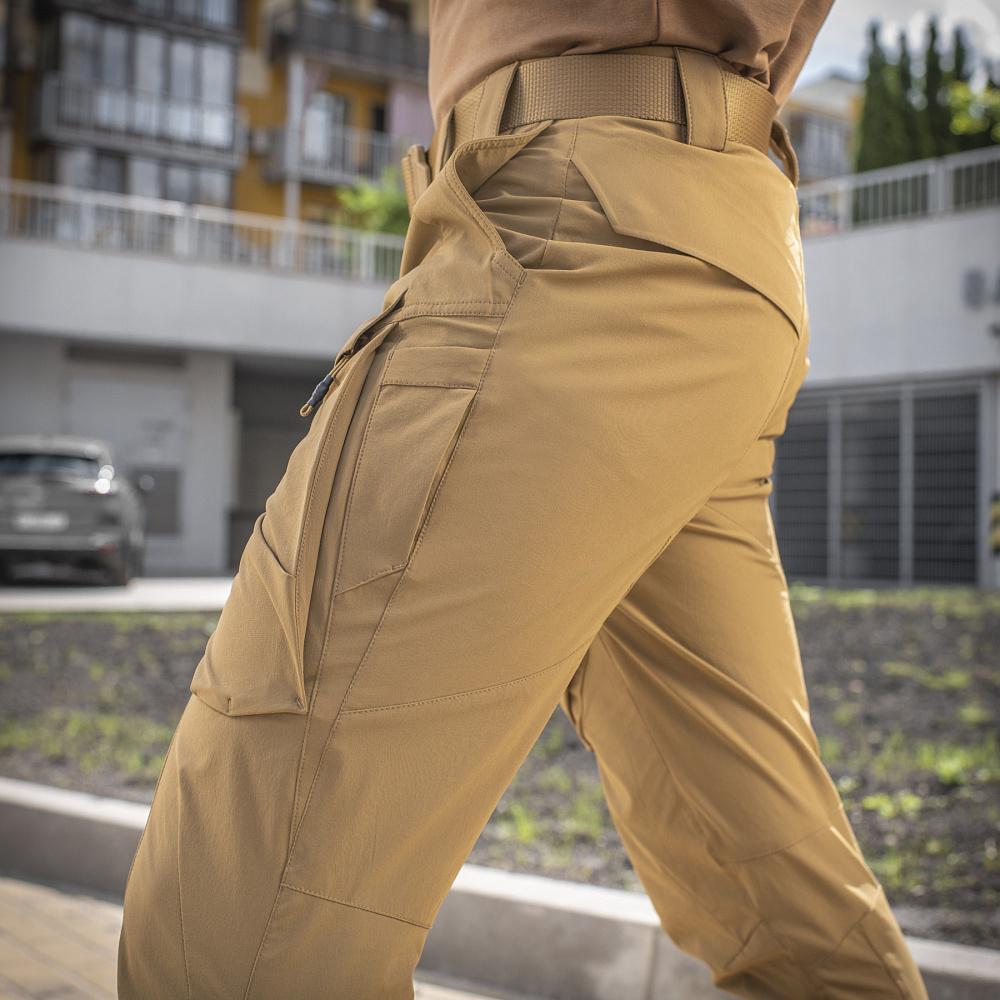 картинка M-TAC БРЮКИ RUBICON FLEX COYOTE BROWN от магазина Одежда+