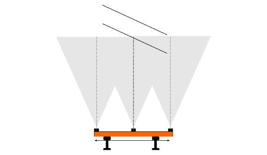 Стереоскопический метод измерения высоты контактной сети