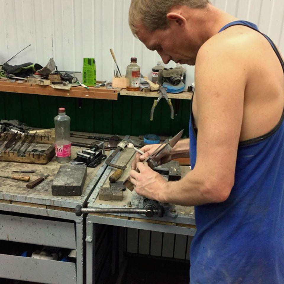 производство якутских ножей