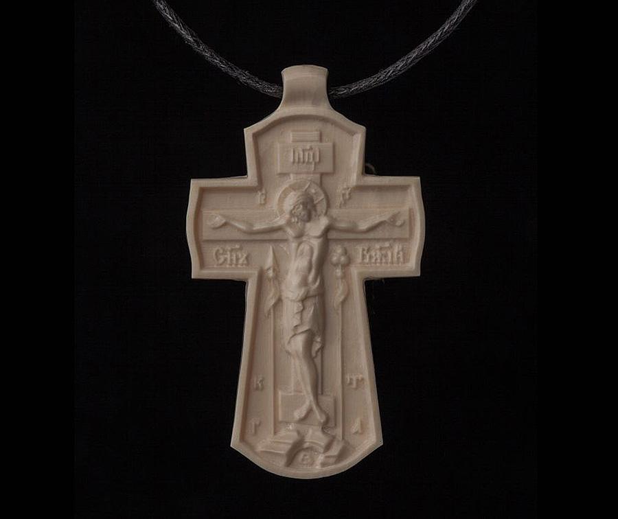 фото Крест со Спасителем М - Хотьковская фабрика резных изделий