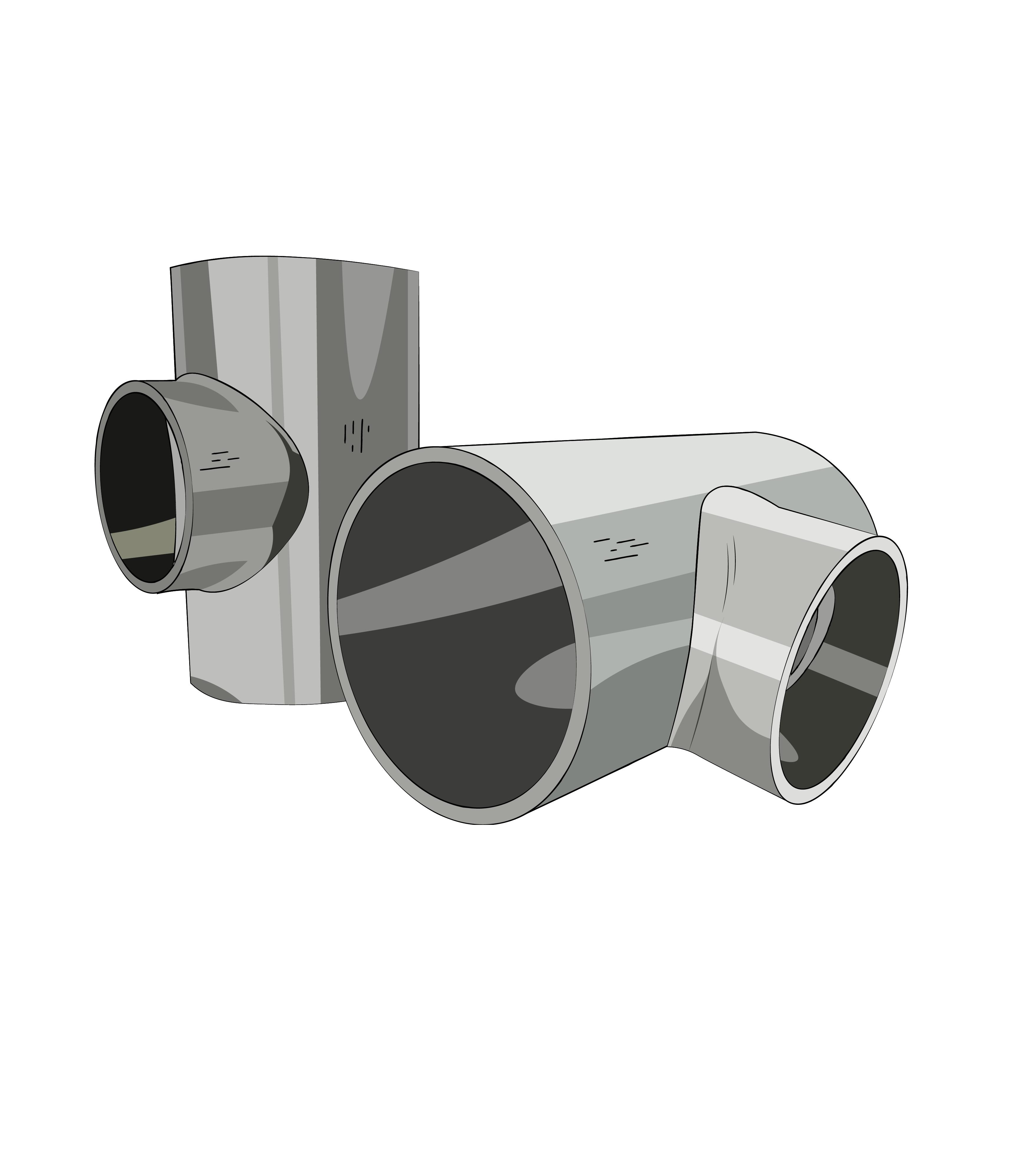 тройник стальной