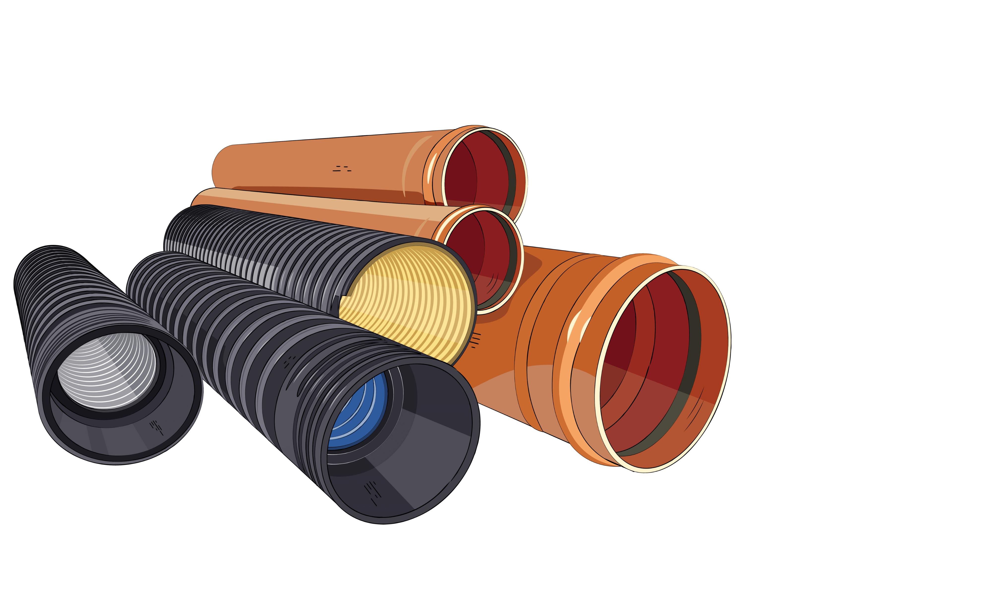 гофрированные трубы нпвх