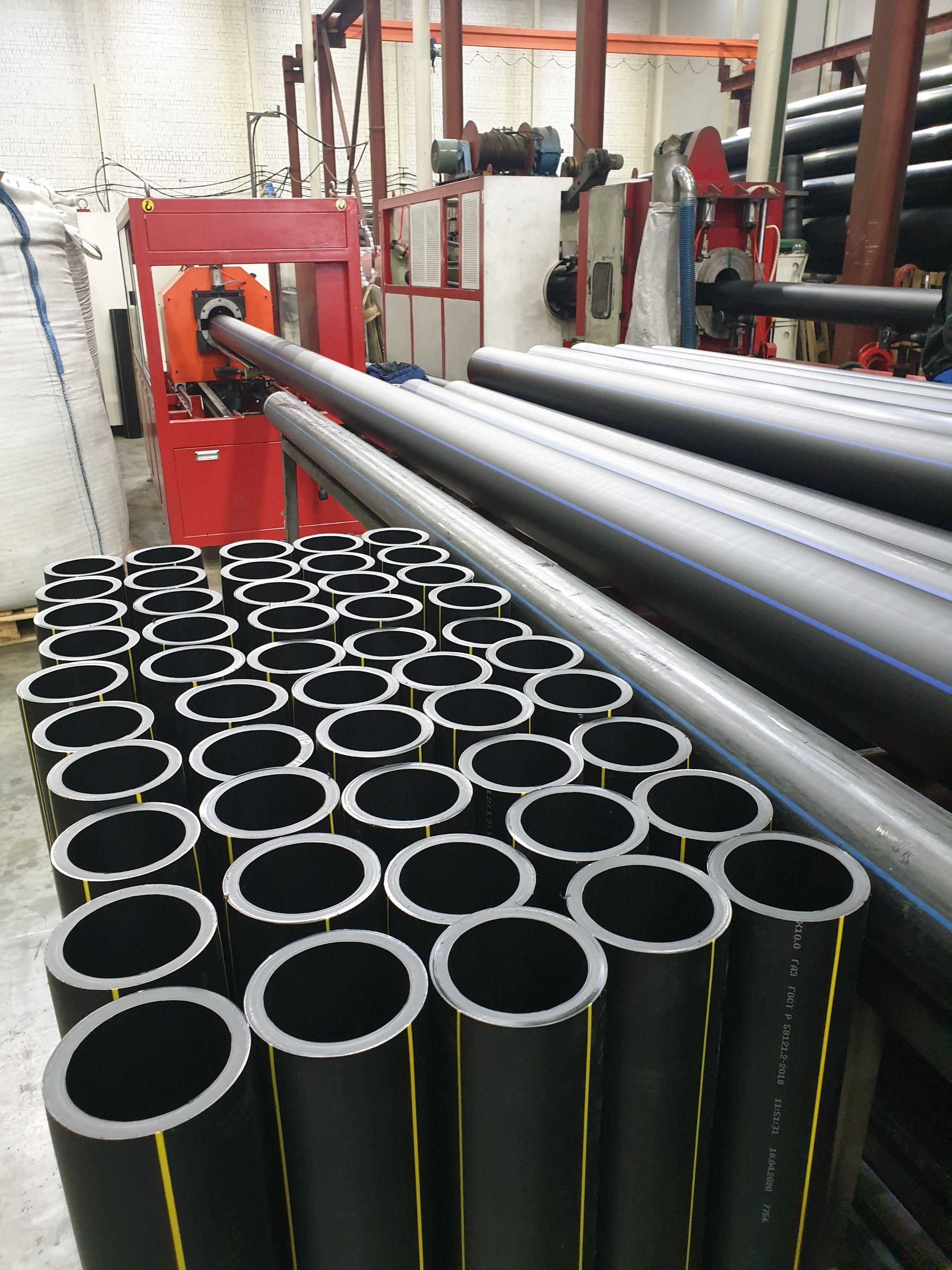 полиэтиленовая труба ПЭ производство