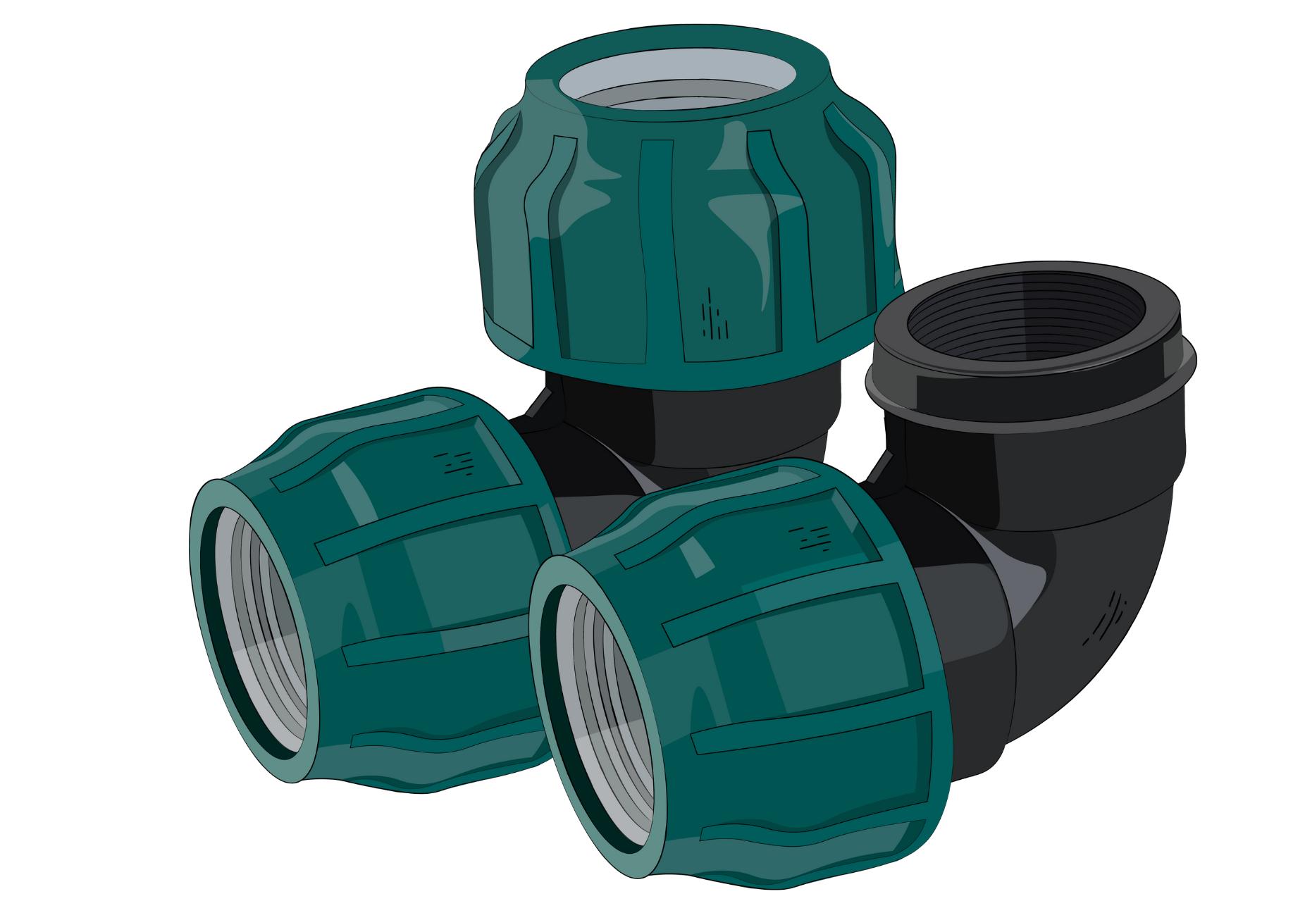 компрессионные отводы для пнд труб