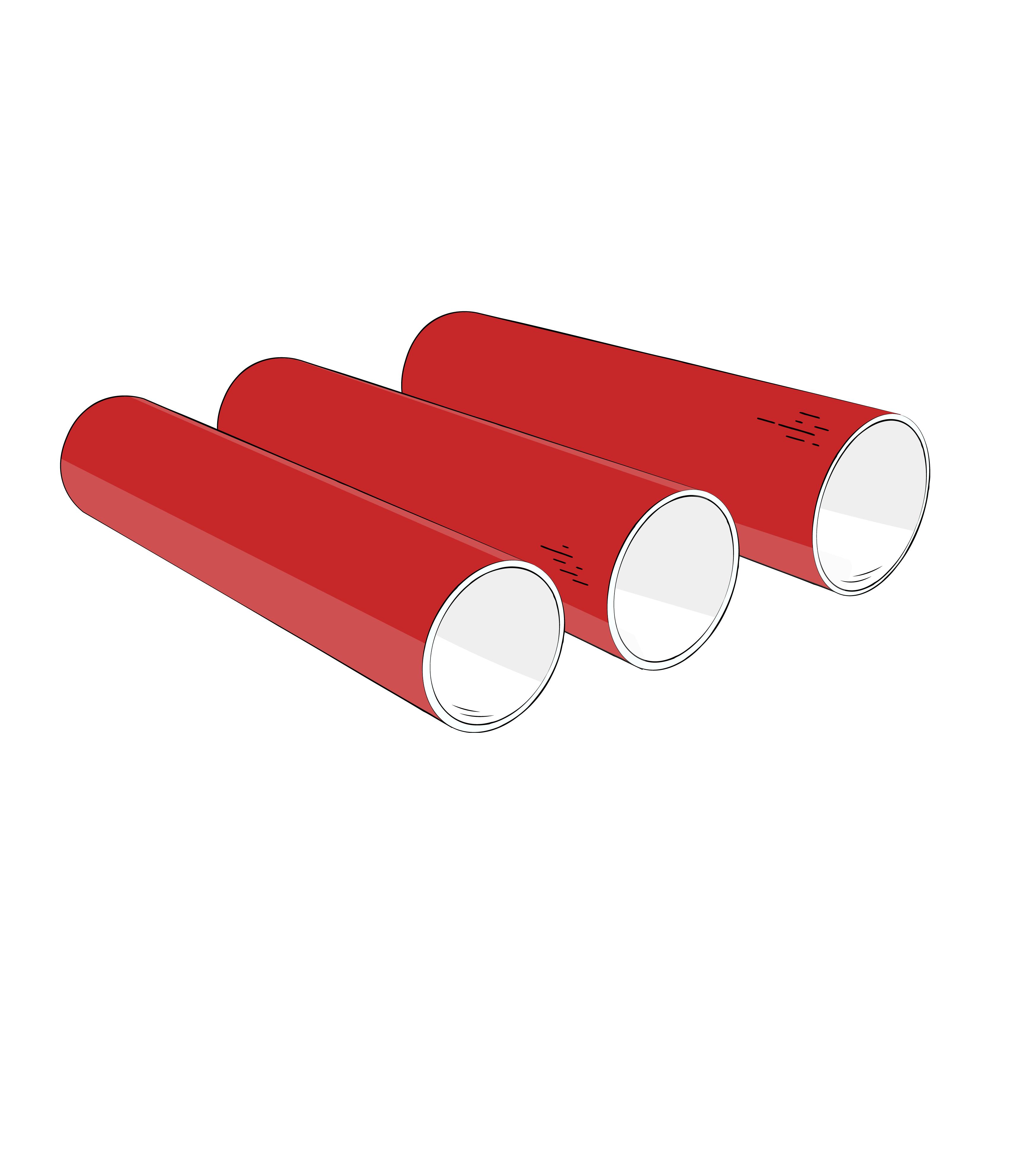 трехслойная труба ПНД