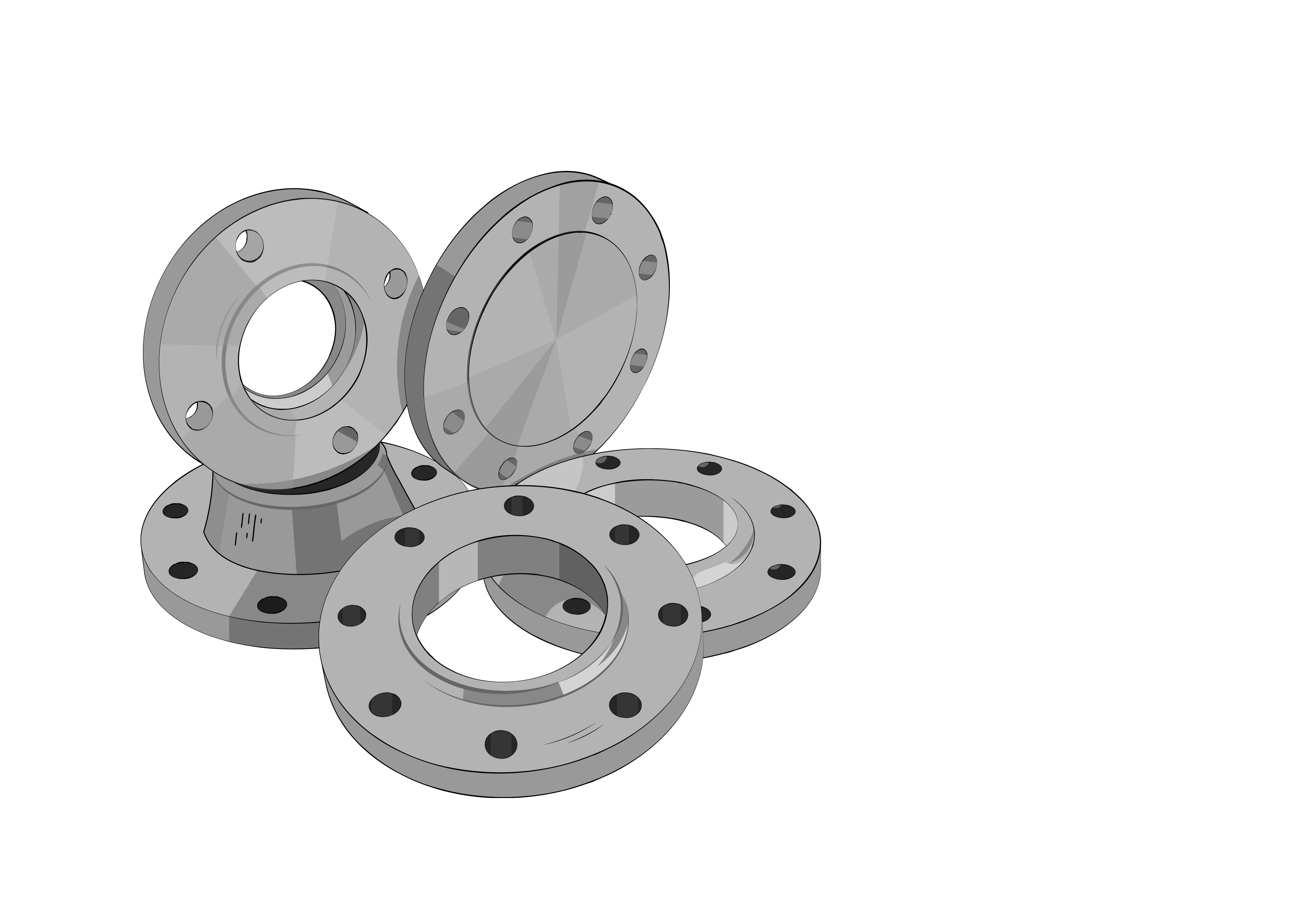 стальные фланцы