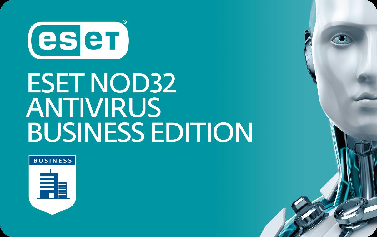 картинка ESET NOD32 Antivirus Business Edition renewal (продл) 2 year от интернет-магазина Programmnoe-obespechenie.ru