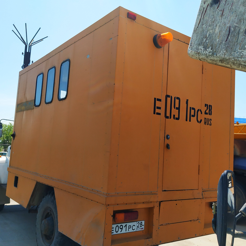 Фото объекта - Автомобиль-фургон ГАЗ-3308 электролаборатория, г.в.2002, тех. паспорт: 28 НТ 852458, гос. рег. знак: Е 091 РС 28.