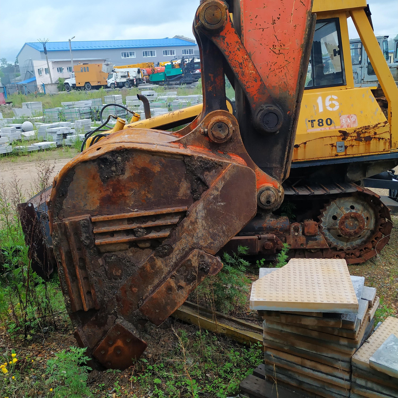 Фото объекта - Экскаватор гусеничный HITACHI ZX 450-3, г.в.2008, тех. паспорт: ТС 023682, гос. рег. знак: АК 2388 28.