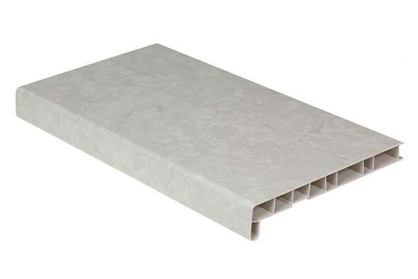 картинка Подоконник пластиковый Витраж /200/ светлый мрамор от Первый магазина подоконников