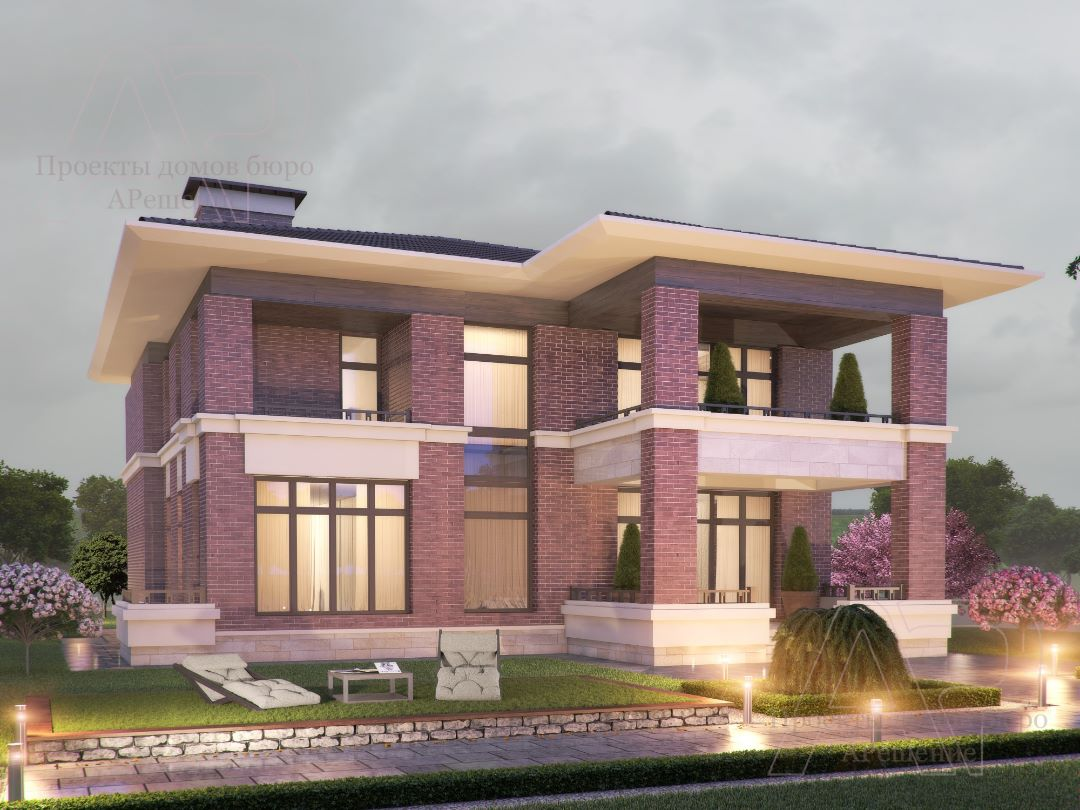 Проект дома 600 м