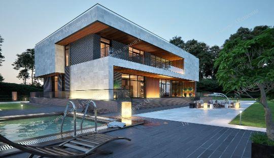 1000 проектов домовПроект дома 2 этажа