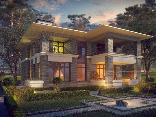Проект дома 600м