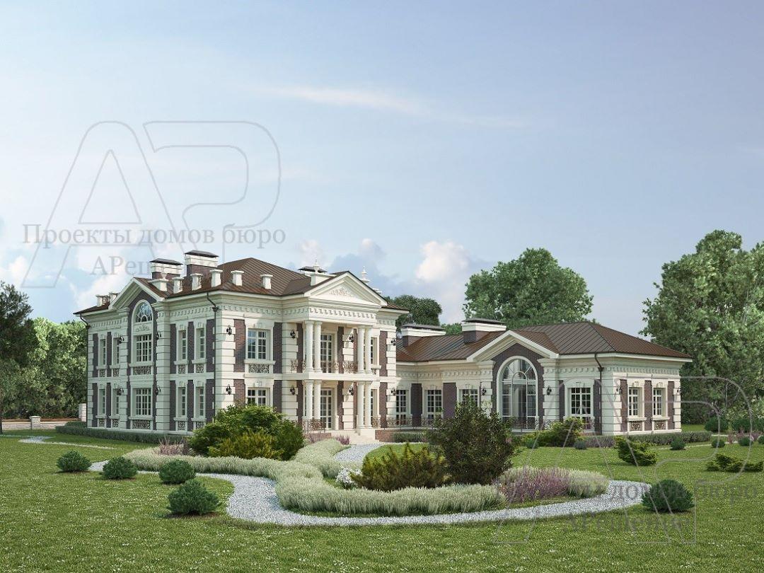 Проекты домов в стиле Ампир
