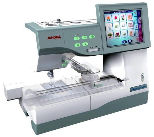 Фото швейной машинки с компьютерным управлением