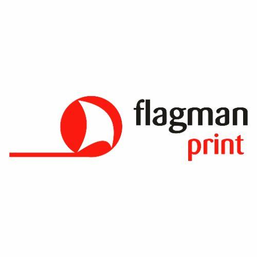 flagman print